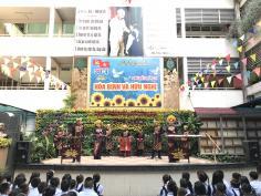 Chương trình Âm nhạc dân tộc tại Trường tiểu học Lương Định Của