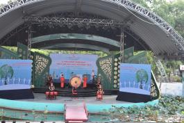Chương trình biểu diễn Lễ phát động chiến dịch
