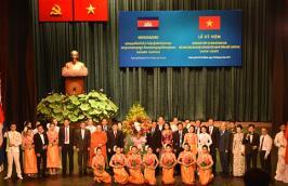 Chương trình kỷ niệm 50 năm ngày thiết lập quan hệ ngoại giao Việt Nam - Campuchia