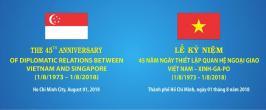 Chương trình nghệ thuật Chào mừng Kỷ niệm 45 năm ngày thiết lập quan hệ ngoại giao Việt Nam - Singapore