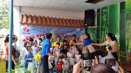 Công đoàn kết hợp cùng Đoàn thanh niên Nhà hát ca múa nhạc dân tộc Bông Sen tổ chức Ngày Quốc tế thiếu nhi 01/6