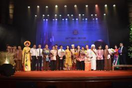 Liên hoan Âm nhạc Asean 2019:  Nhà hát Ca múa nhạc dân tộc Bông Sen đoạt 2 huy chương vàng, 3 huy chương bạc