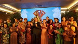 Nhà hát Bông Sen tổ chức chương trình nghệ thuật đón tiếp đoàn cấp cao, đoàn chuyến xe hữu nghị phụ nữ ba nước Việt Nam - Lào - Campuchia