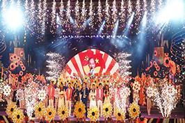 Nhà hát ca múa nhạc dân tộc biểu diễn chào mừng Đại hội Đảng bộ TPHCM lần  thứ XI, nhiệm kỳ 2020 - 2025