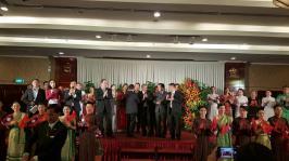 Nhà hát ca múa nhạc dân tộc Bông Sen tiếp đón đoàn đại biểu cấp cao nước Cộng hoà Dân chủ Nhân dân Lào